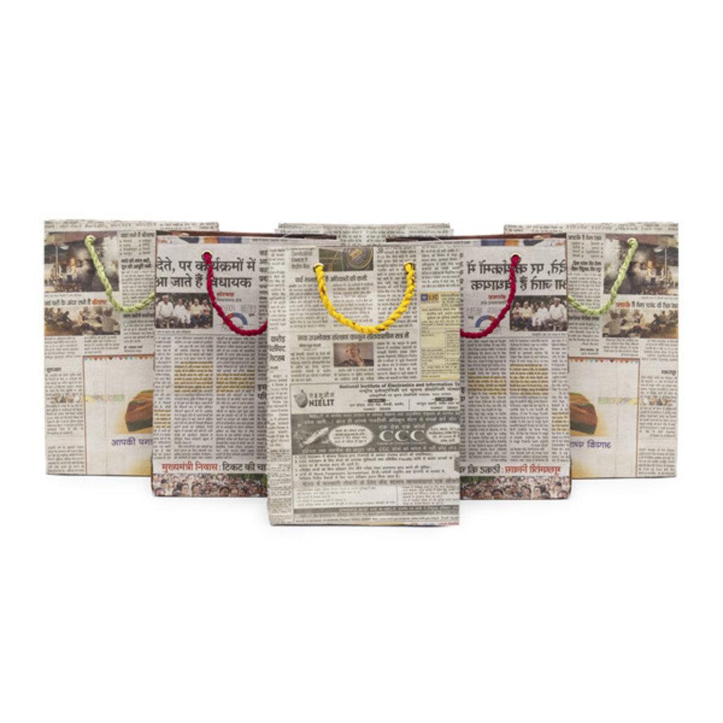 Matr Boomie Eco News Medium Gift Bag