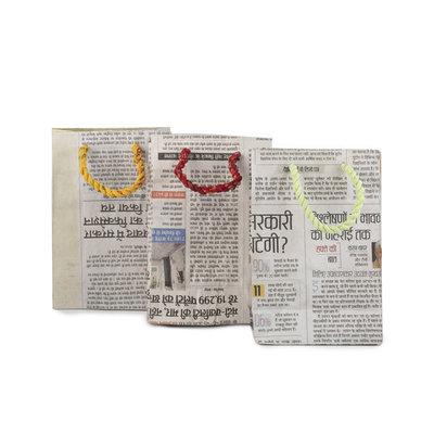Matr Boomie Eco News Small Gift Bag