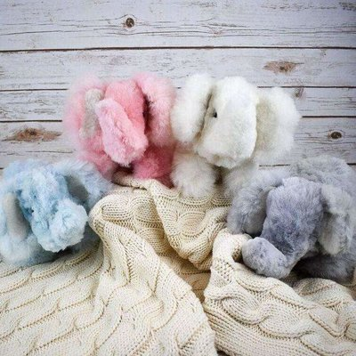 Blossom Inspirations Elephant Alpaca Stuffed Animal