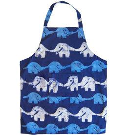 Global Mamas Reversible Elephant Apron