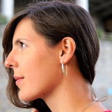 Fair Anita Faux Hoop Earrings