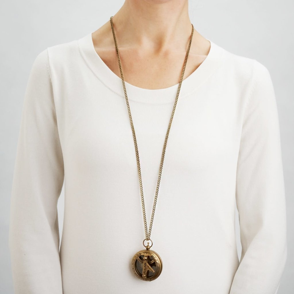 Ten Thousand Villages Find Your True North Necklace