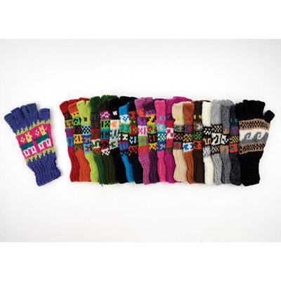 Minga Imports Fleur Alpaca Blend Fingerless Gloves