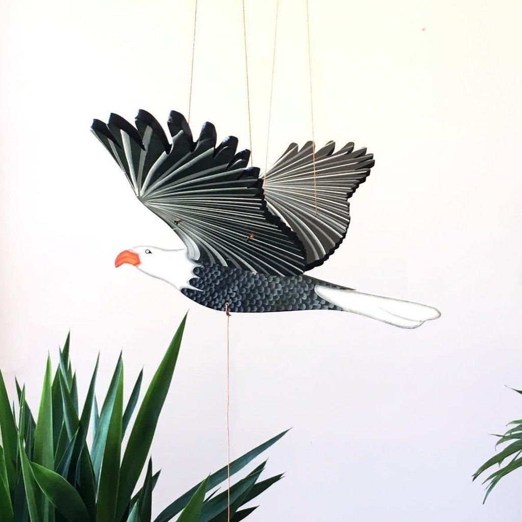 Tulia's Artisan Gallery Flying Mobile: Bald Eagle