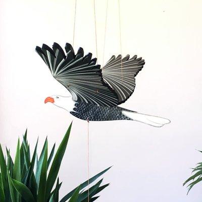 Tulia's Artisan Gallery Flying Bald Eagle Mobile