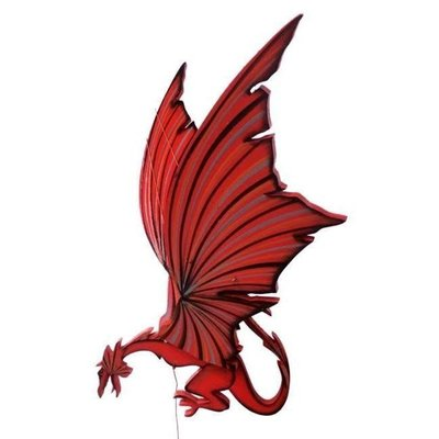 Tulia's Artisan Gallery Flying Welsh Dragon Mobile