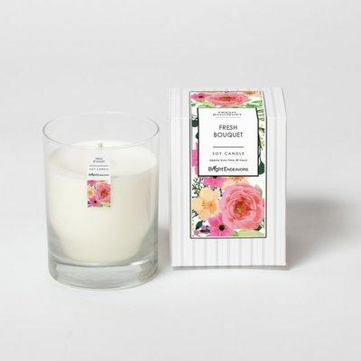 Bright Endeavors Fresh Bouquet Candle 11 oz Glass