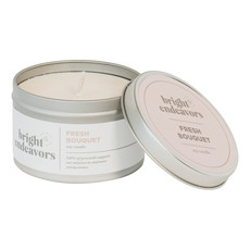 Bright Endeavors Fresh Bouquet Candle 8 Ounce Tin