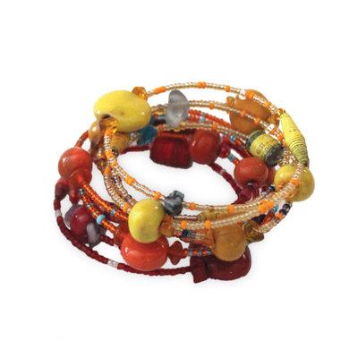 Imani Workshops Funky Spiral Bracelet