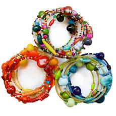 Creation Hive Funky Spiral Bracelet