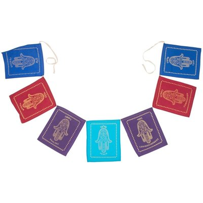 Ten Thousand Villages Hamsa Jewish Blessing Garland