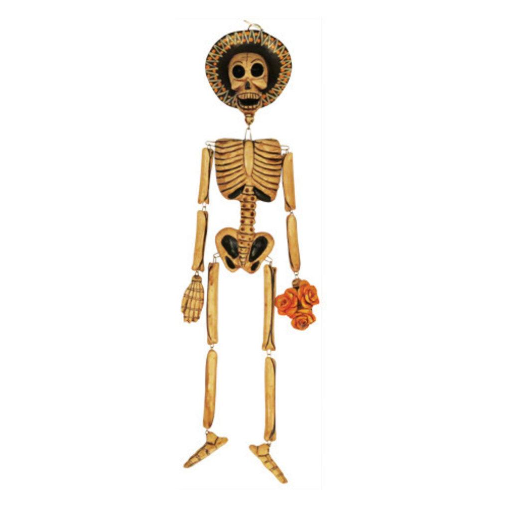 Inter-American Trading Hanging Skeleton Ornament Large
