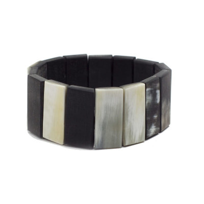 Fair Trade Winds Hanoi Dark Horn Bracelet