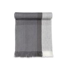 Sustainable Threads High Tea Handwoven Linen Scarf/Runner