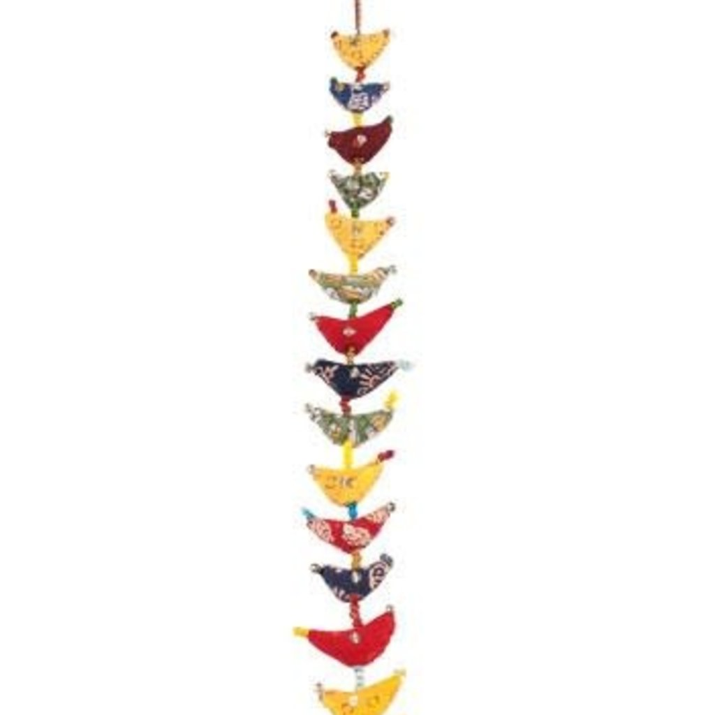 Mira Fair Trade Prosperity Tota Hanging - 15 Birds