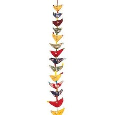 Mira Fair Trade Indian Hanging Birds - 31""