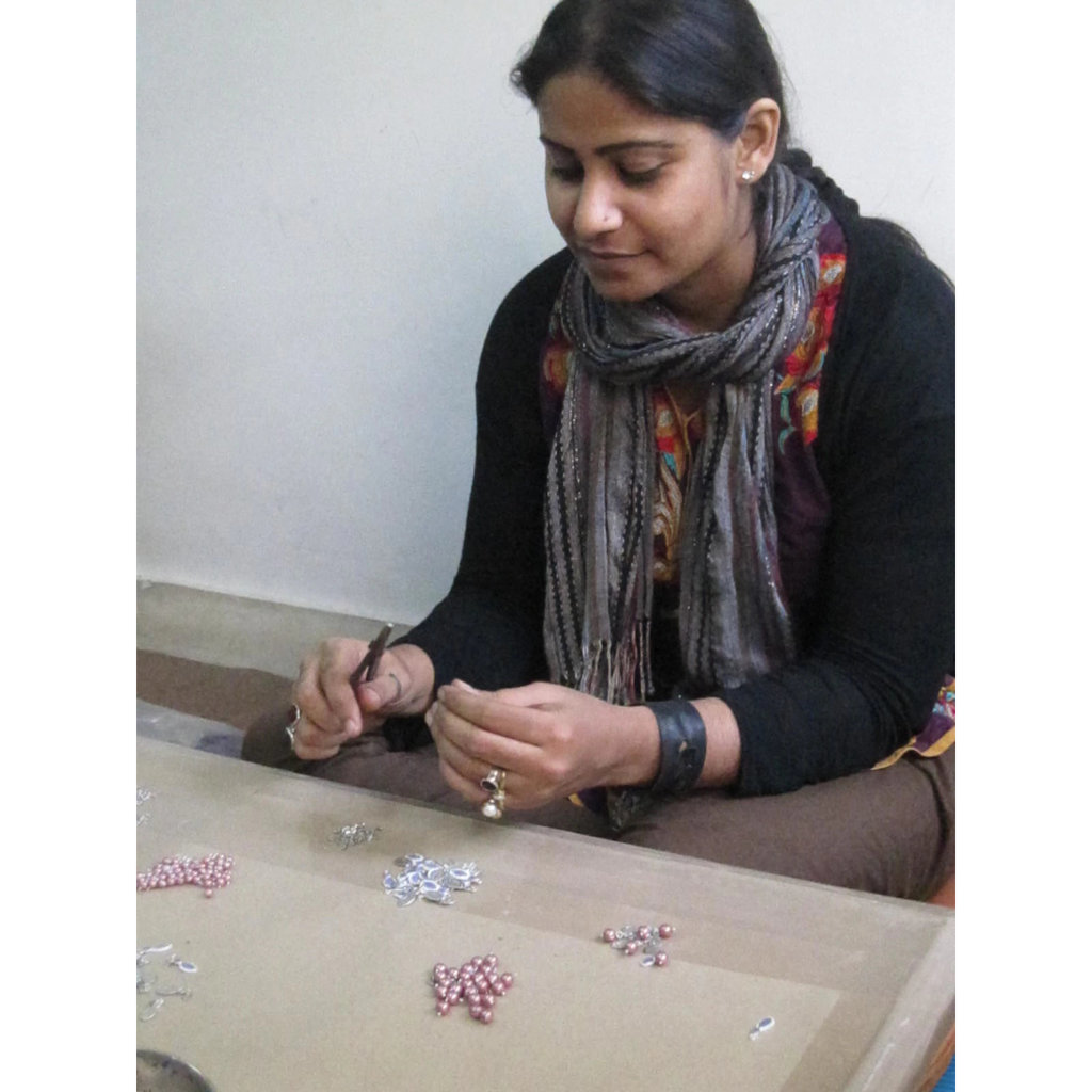 Fair Anita Jali Cutout Bone Necklace
