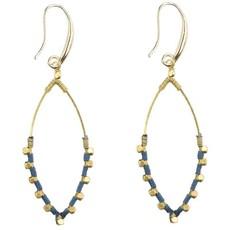 Marquet Fair Trade Jane Oceana Akha Earrings