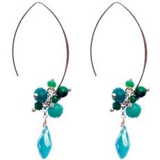 Marquet Fair Trade Jen Open Horizon Akha Earrings