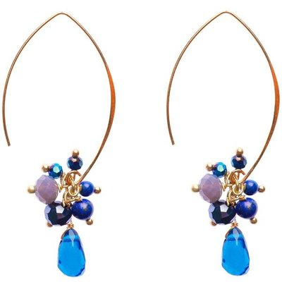 Marquet Fair Trade Jen Peacock Akha Earrings
