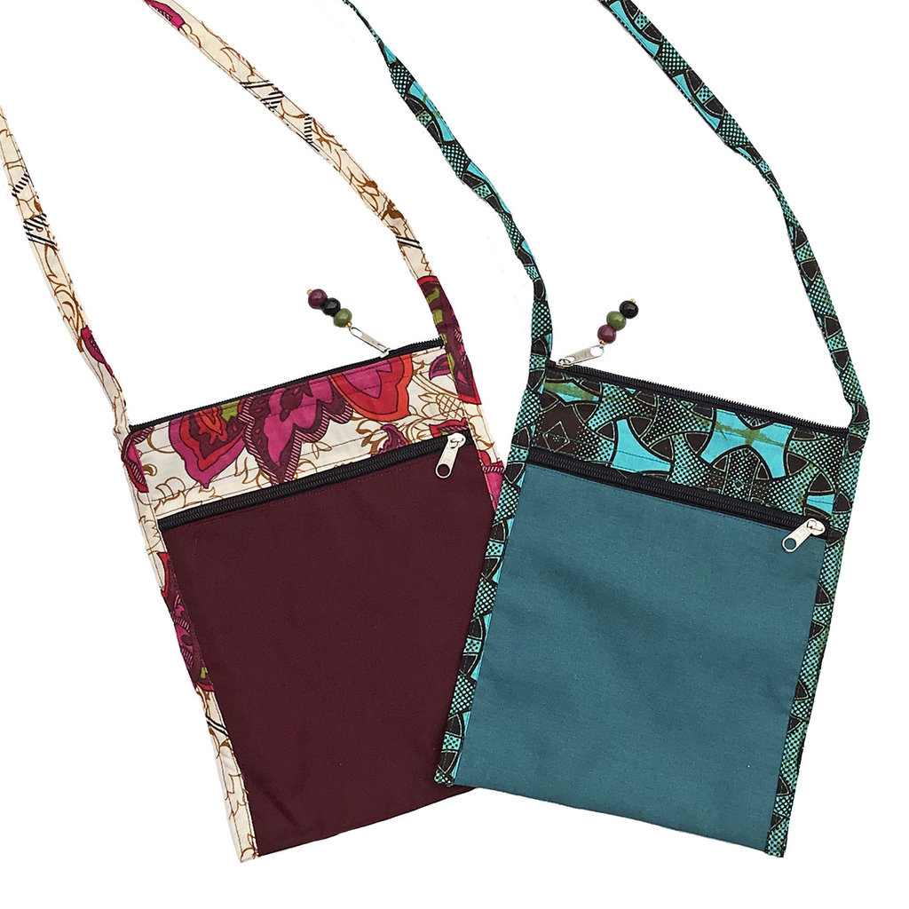 Imani Workshops Journalist Cross Body Bag