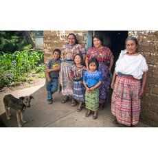 Mayan Hands Juana Pine Needle and Wild Grass Basket