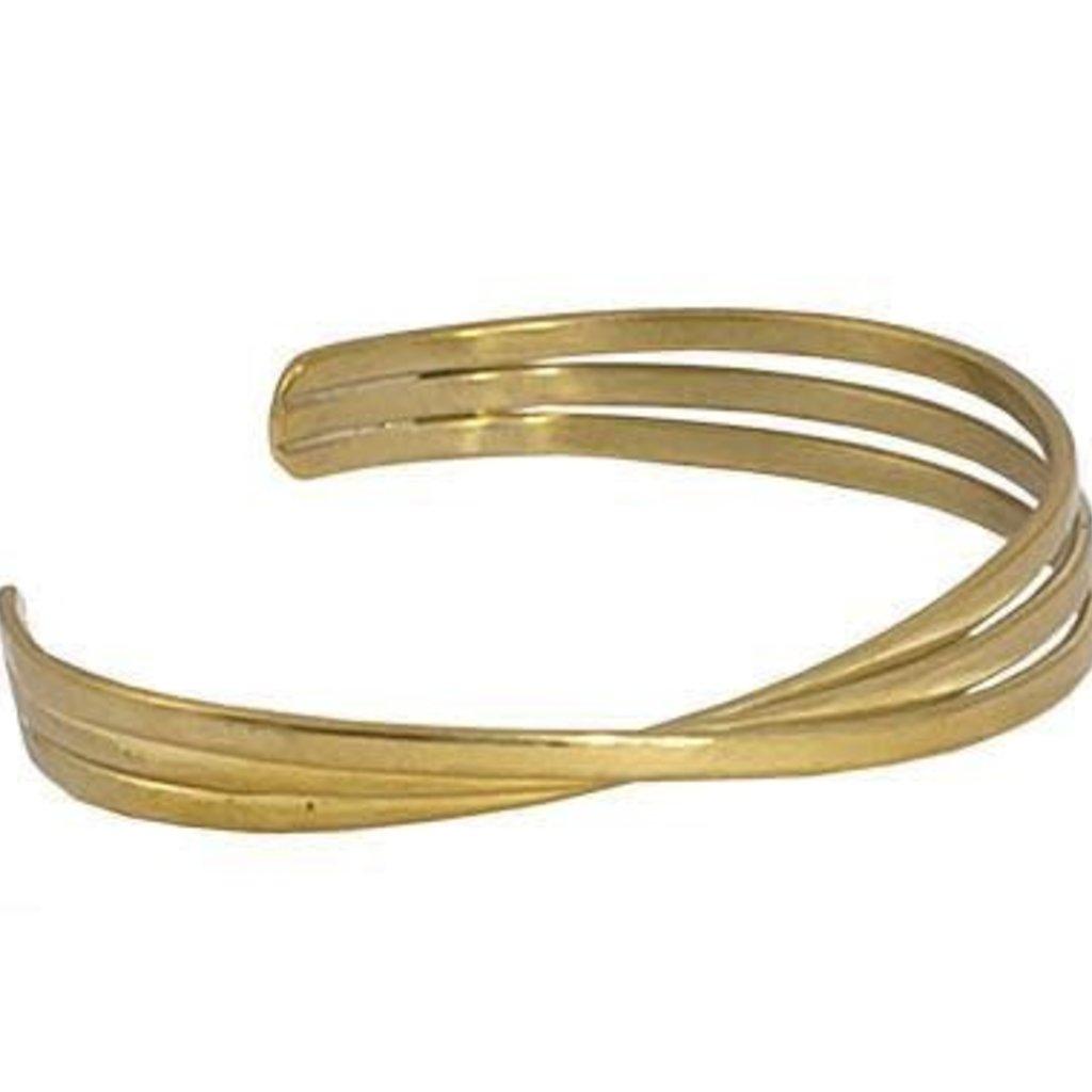 Marquet Fair Trade Kannika Brass Bracelet