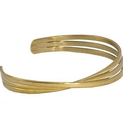 Marquet Fair Trade Kannika Brass Bracelet