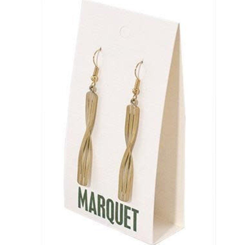 Marquet Fair Trade Kannika Brass Earrings