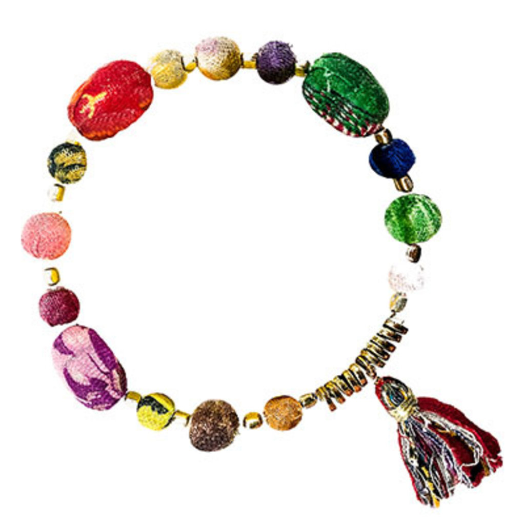 World Finds Kantha Aria Bracelet