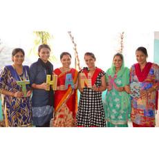 World Finds Kantha Horizontal Bar Necklace