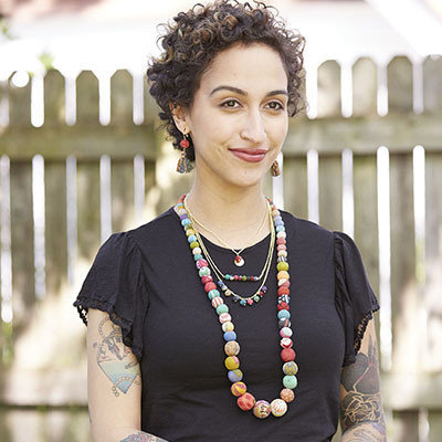 World Finds Kantha Triple Layered Necklace
