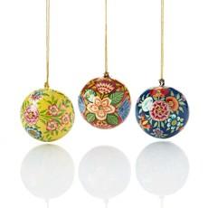Serrv Kashmiri Colorful Ball Ornament
