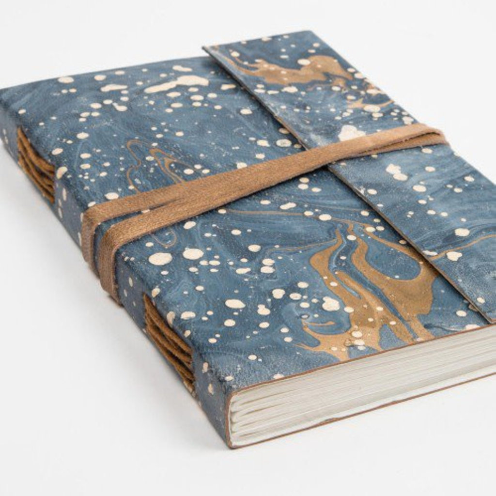 Ten Thousand Villages Large Leather Musing Journal