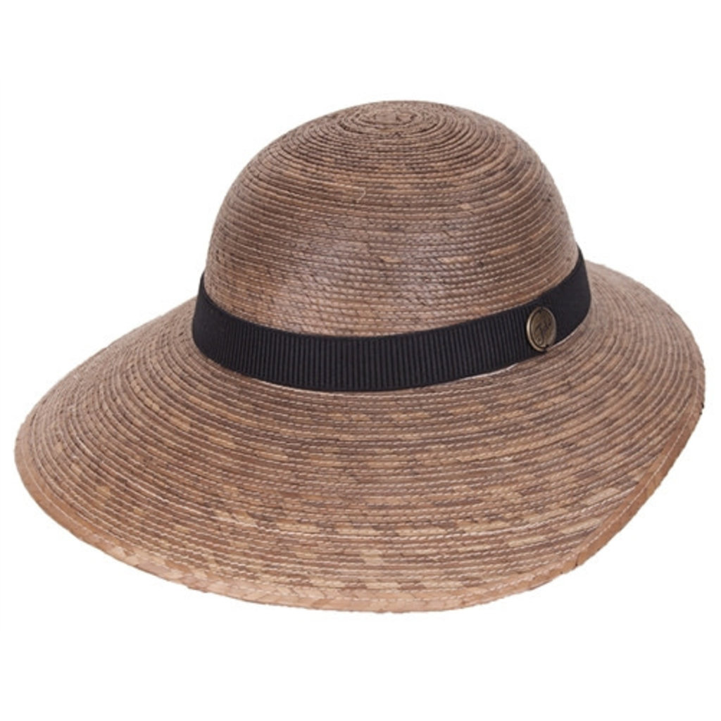 Tula Hats Laurel Hat with Black Band - One Size Fits All