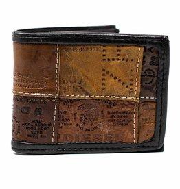 Global Crafts Leather Jean Label Bifold Wallet