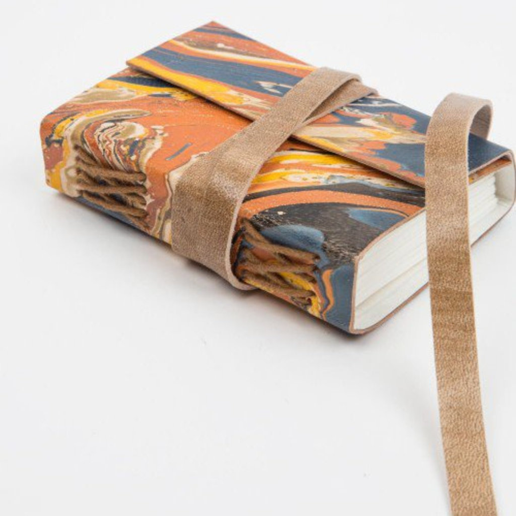 Ten Thousand Villages Leather Muse Journal