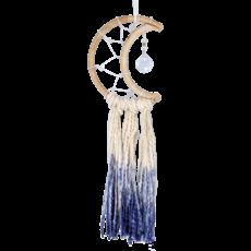 DZI Handmade Little Blue Moon Dreamcatcher