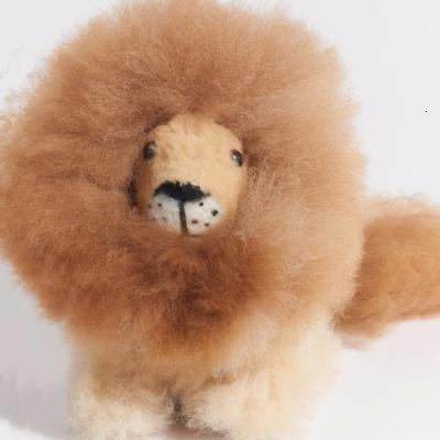 Blossom Inspirations Little Lion Alpaca Stuffed Animal