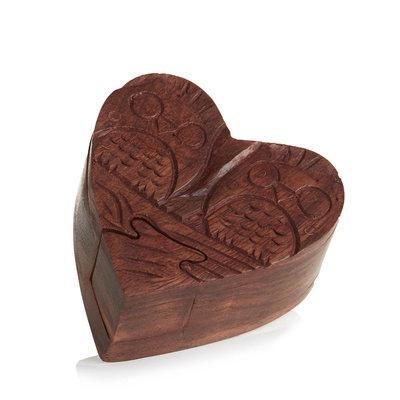 Serrv Love Owls Puzzle Box