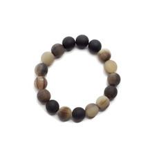 Fair Trade Winds Marble Horn Bracelet