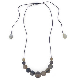 Fair Trade Winds Marble Horn Necklace