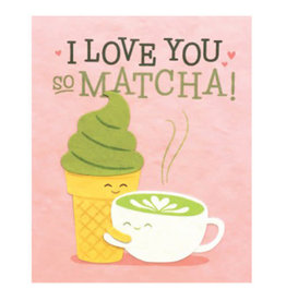Good Paper Matcha Love Card