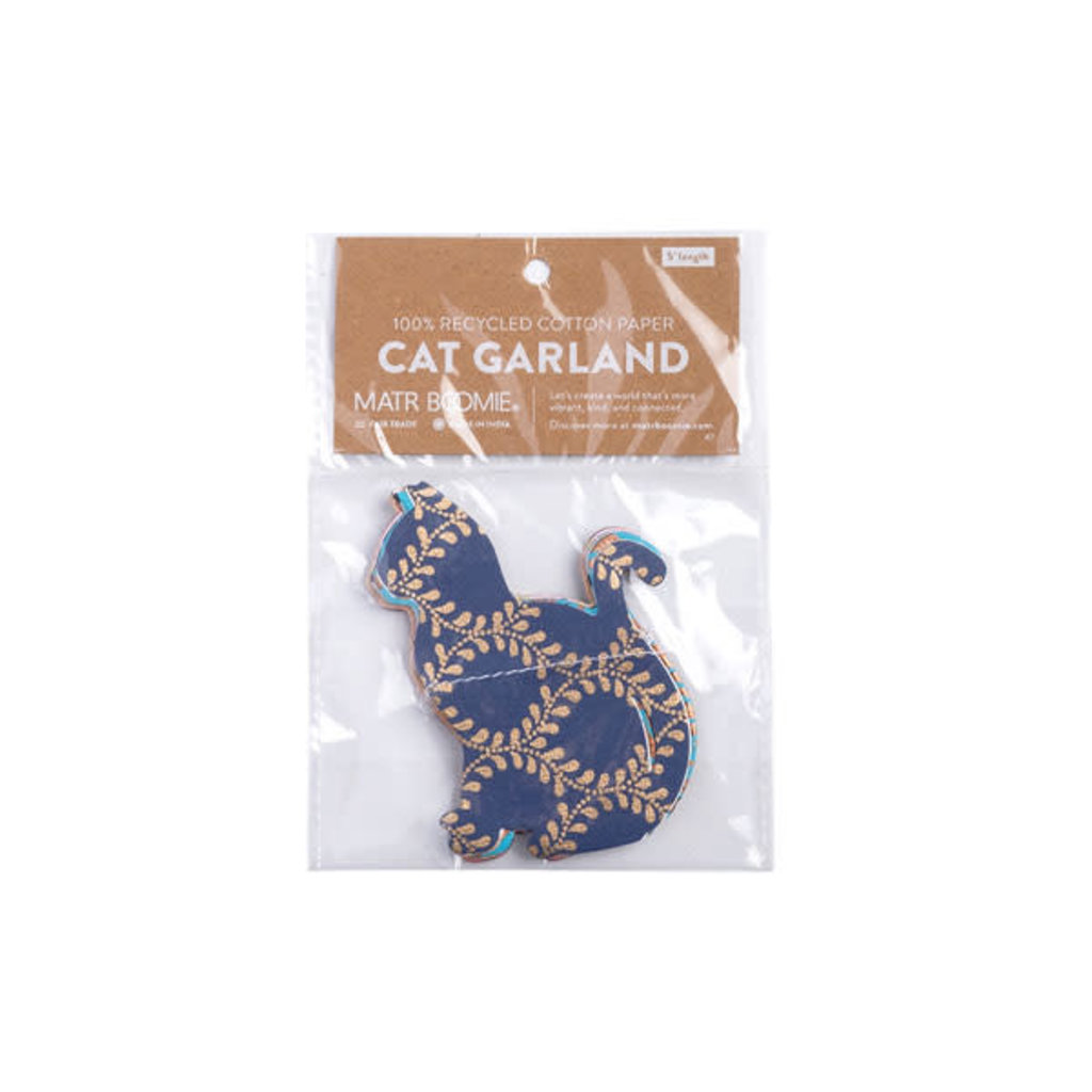 Matr Boomie Metallic Cotton Cat Garland