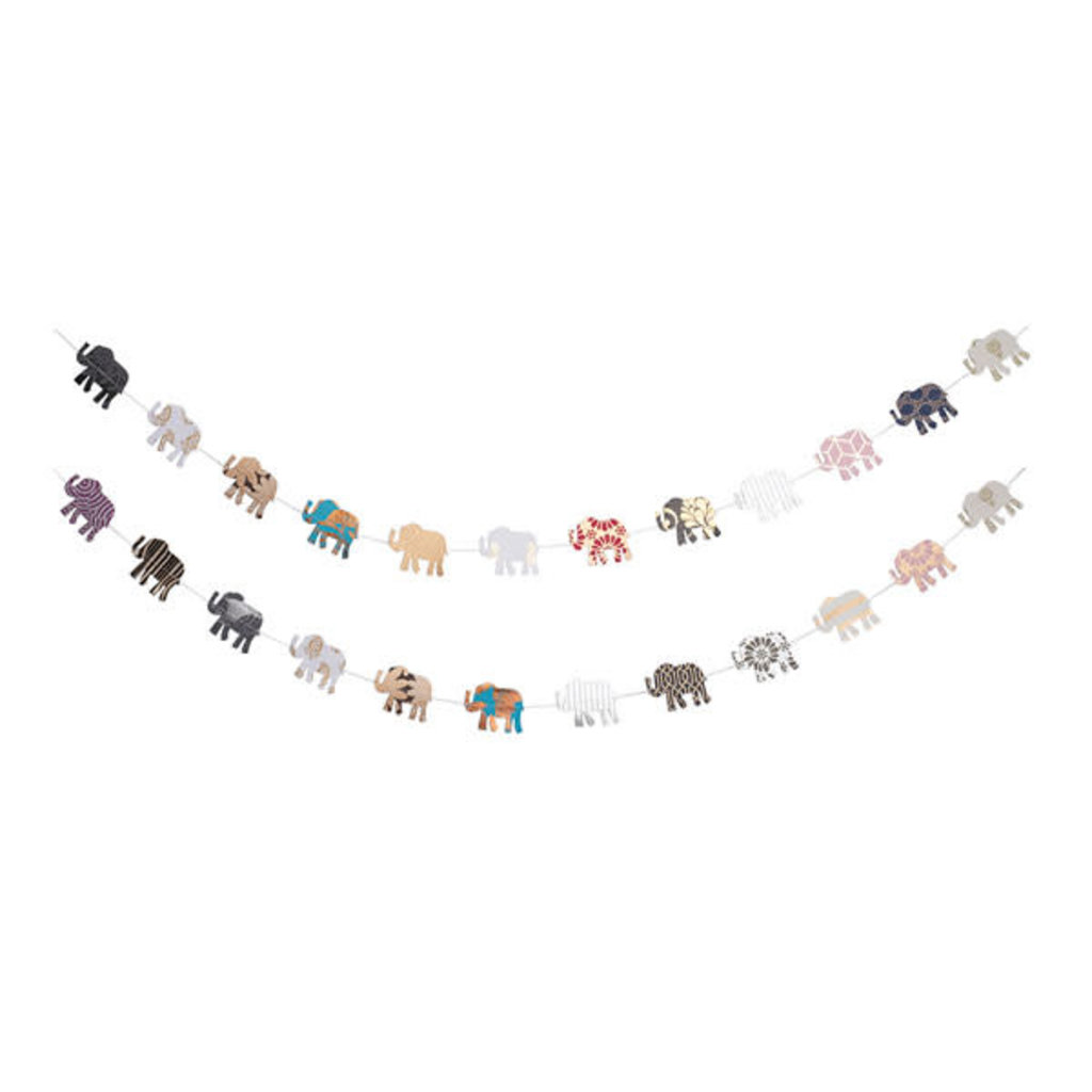 Matr Boomie Metallic Cotton Elephant Garland