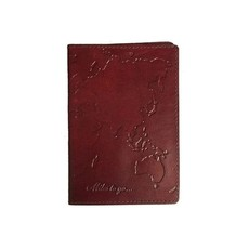 Matr Boomie Miles to Go Leather Passport Cover