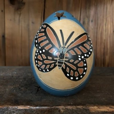 Women of the Cloud Forest Mini Monarch Blue Luminary