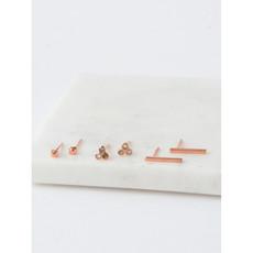 Fair Anita Mini Stud Set: Copper