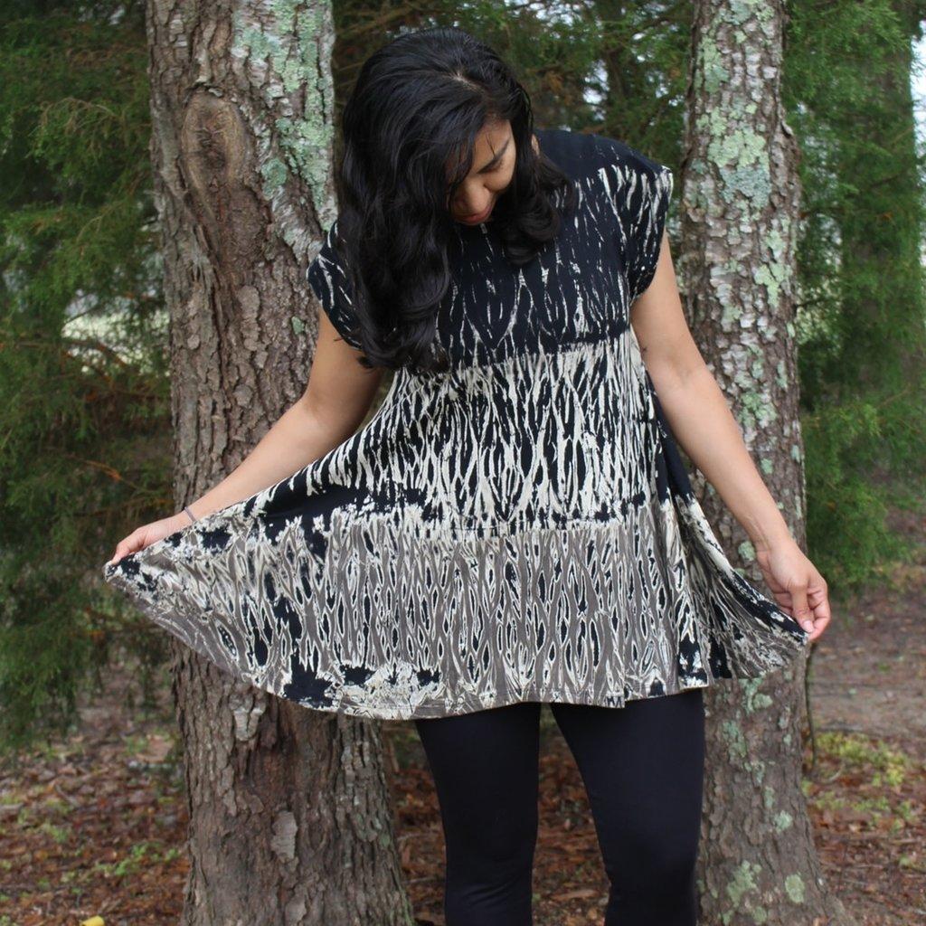 Unique Batik Mojave Thai Dye Tunic