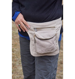 Ganesh Himal Solid Cotton Fanny Pack